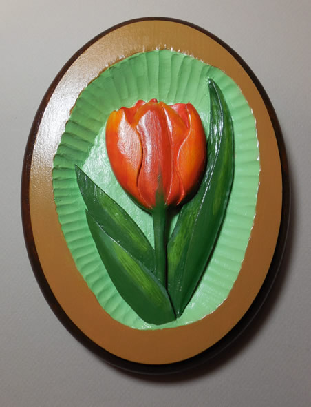 tulip relief pattern