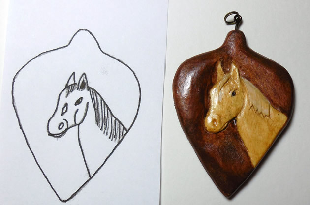 woodcarving pattern